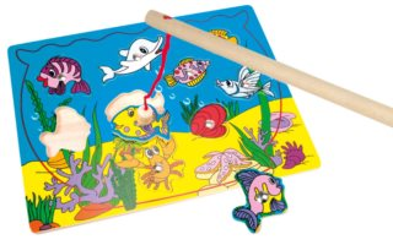 Vkládačka BINO 82763 Akvárium - Magnetická dětská vkládačka