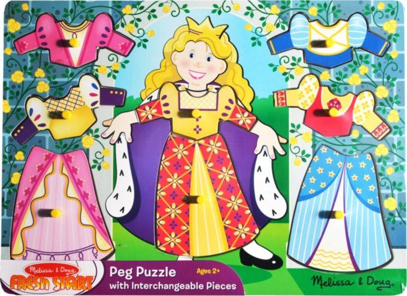 Melissa & Doug 62863 Vkládačka princezna