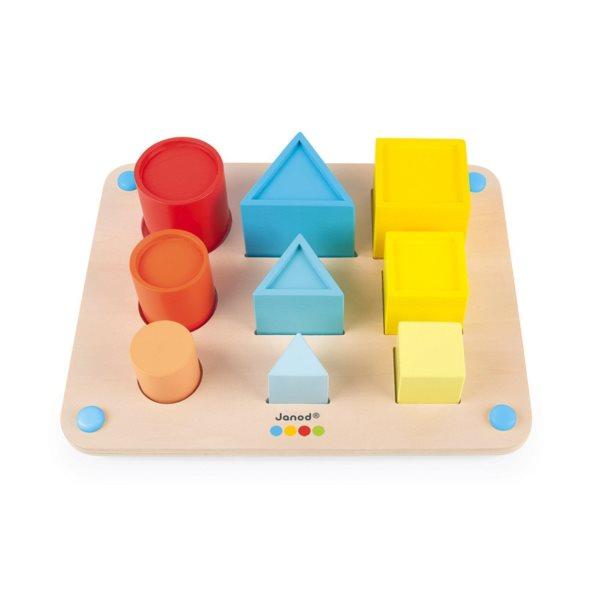 JANOD Vkládačka Učíme se tvary a barvy