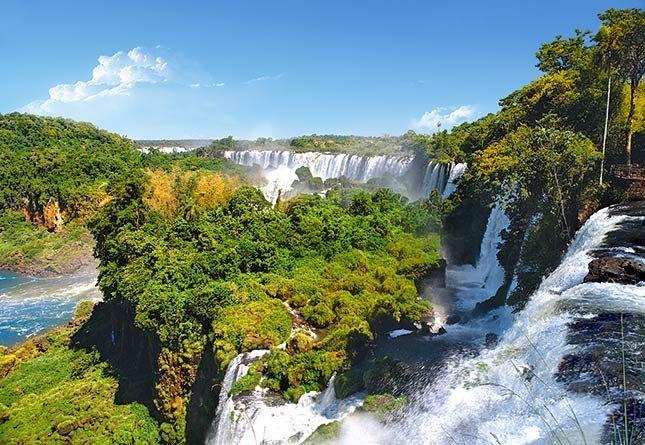 CASTORLAND Puzzle Vodopády Iguazu 1000 dílků