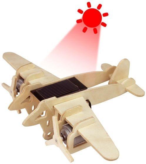 ROBOTIME 3D puzzle Vojenský bombardér solární