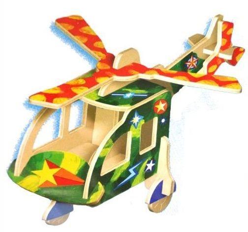 ARTLOVER 3D puzzle Vrtulník s barvičkami