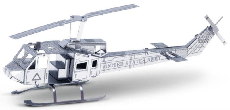 METAL EARTH 3D puzzle Vrtulník Bell UH-1 Huey