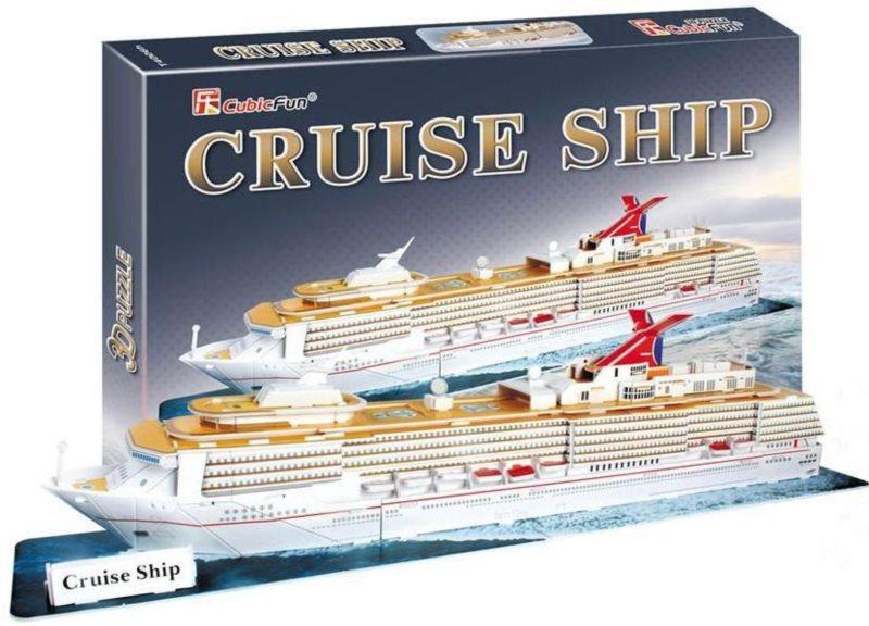 CUBICFUN 3D puzzle Výletní loď 86 dílků