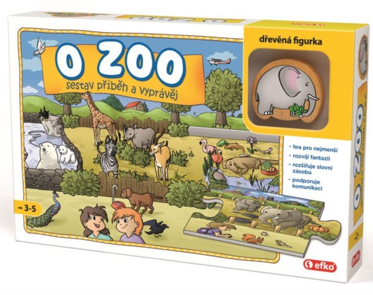 EFKO Vyprávěcí puzzle O zoo 9 dílků