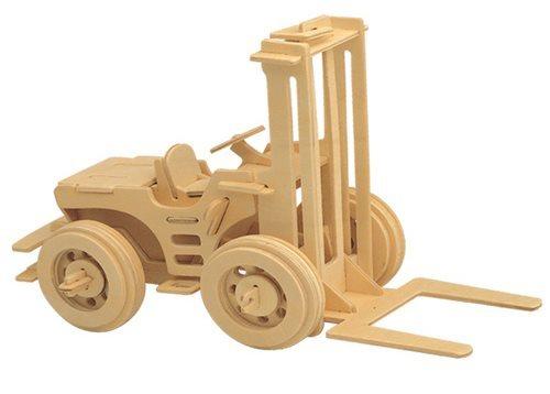 WOODEN TOY , WCK 3D puzzle Vysokozdvižný vozík
