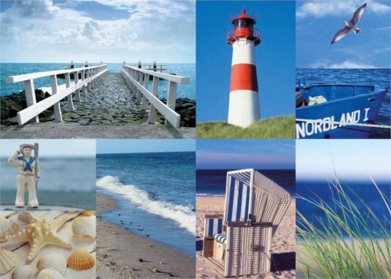 Puzzle RAVENSBURGER 1000 dílků - Vzpomínky na moře