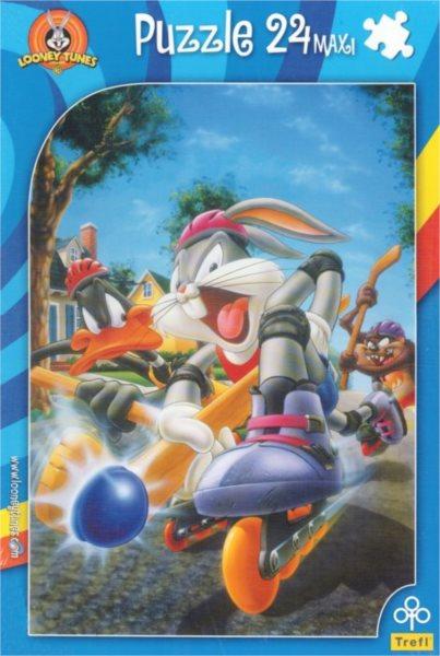 TREFL Puzzle Looney Tunes: Jedéém MAXI 24 dílků