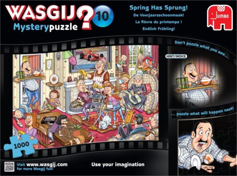 JUMBO Puzzle WASGIJ 10: Jarní úklid - 1000 dílků