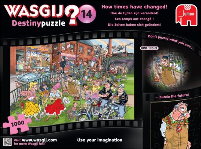 JUMBO Puzzle WASGIJ Destiny 14: Časy se mění - 1000 dílků