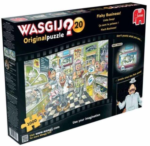 JUMBO Puzzle WASGIJ 20: Rybí restaurace - 1000 dílků