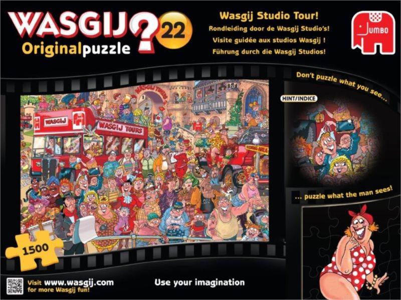 JUMBO Puzzle WASGIJ 22: Prohlídka studia - 1500 dílků