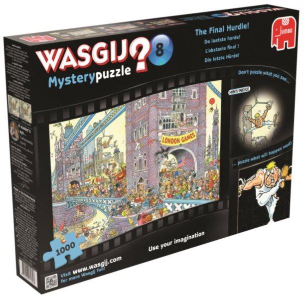 JUMBO Puzzle WASGIJ Mystery 8: Poslední překážka - 1000 dílků