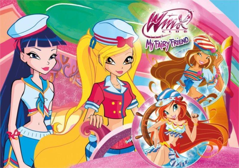 CLEMENTONI puzzle Winx Club My Fairy Friend 60 dílků