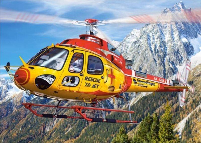 CASTORLAND Puzzle Záchranářský vrtulník 260 dílků