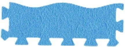 MALÝ GÉNIUS Okrajový dílek vlna silný 0+ (modrý)