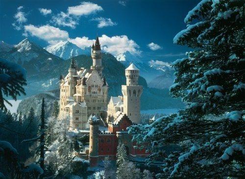 Puzzle CLEMENTONI 1000 dílků - Zámek Neuschwanstein