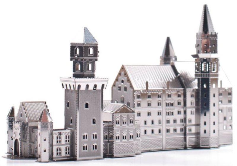 3D kovové puzzle METAL EARTH Zámek Neuschwanstein