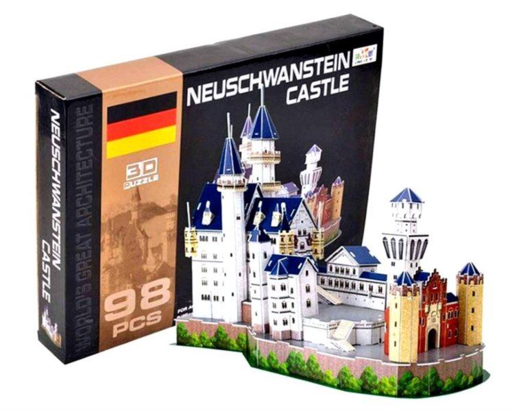 LING LE SI 3D puzzle Zámek Neuschwanstein