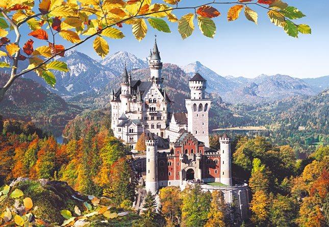 Puzzle CASTORLAND 3000 dílků - Zámek Neuschwanstein, Německo