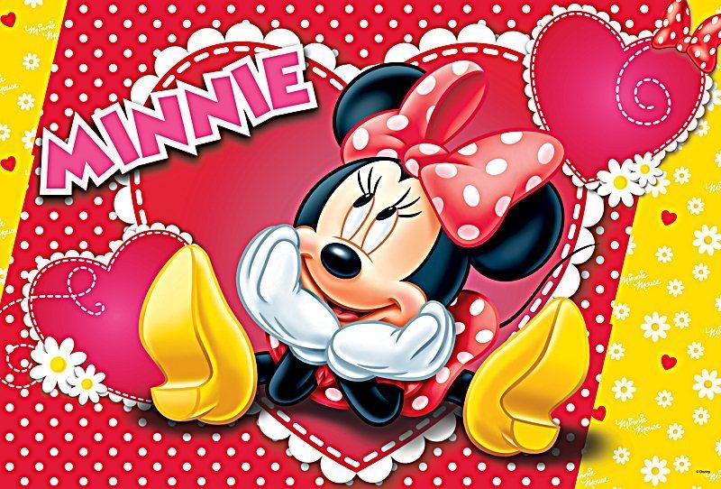 TREFL Puzzle Zamilovaná Minnie 160 dílků