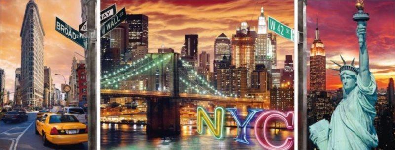 Puzzle RAVENSBURGER 1000 dílků - Zářivý New York