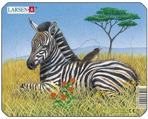 LARSEN Puzzle Zebra 9 dílků
