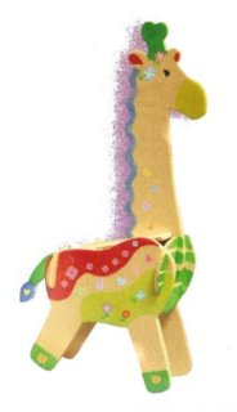 ARTLOVER 3D puzzle Žirafa s barvičkami
