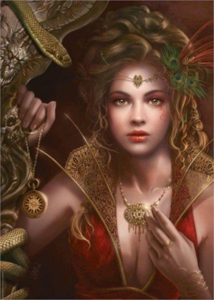 Puzzle HEYE 1000 dílků - Cris Ortega: Zlaté šperky