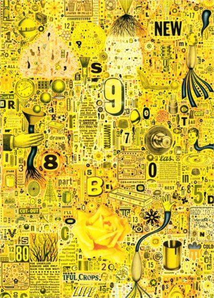 HEYE Puzzle Žlutá růže 1000 dílků