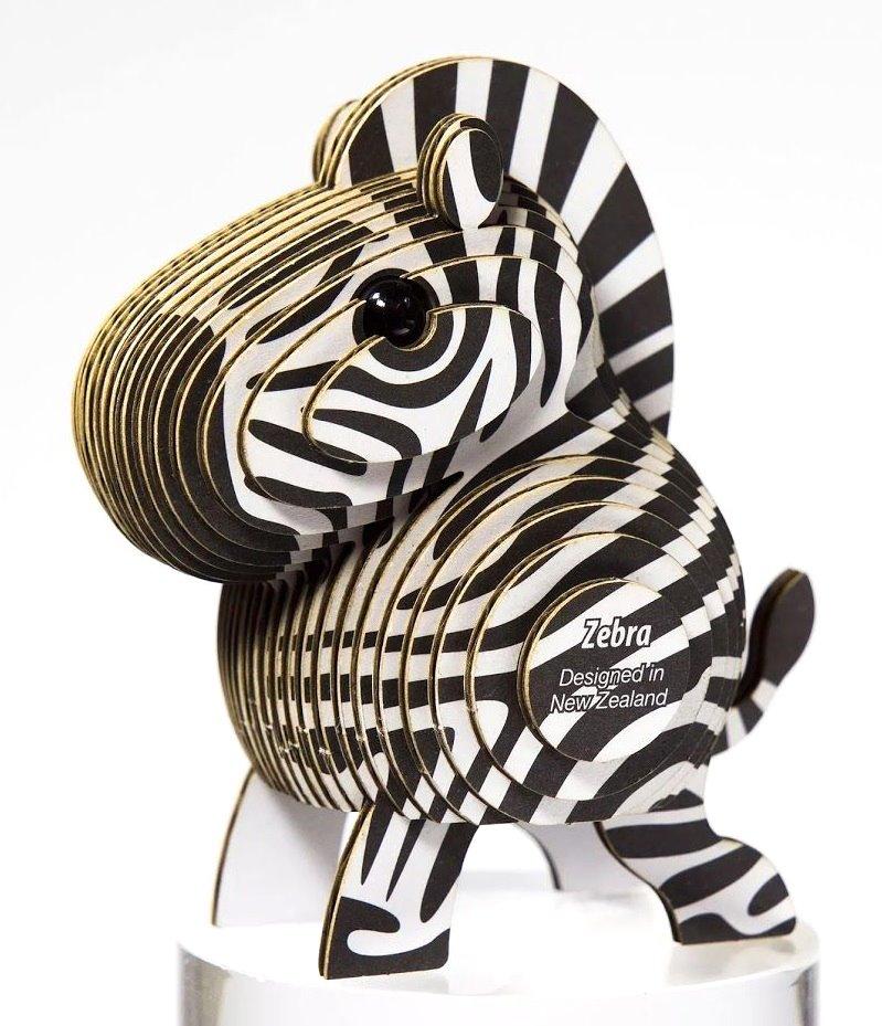Dodoland 3DPuzzle Eugy Zebra 3D Puzzles