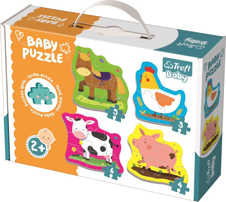První puzzle - zvířátka