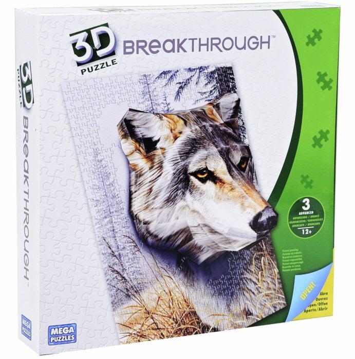 3d puzzle vlk uroveň 3 3d puzzle breakthrough wolf level