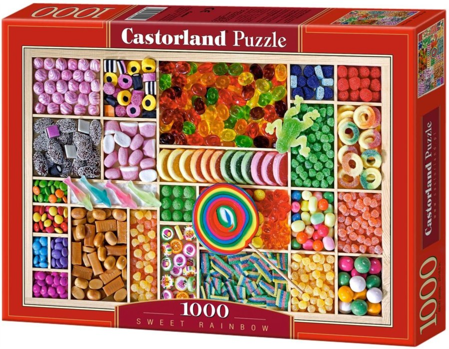 Puzzle cukrovinky 1000 dílků
