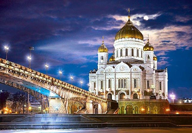 Puzzle castorland 1500 dílků - katedrála krista spasitele, moskva