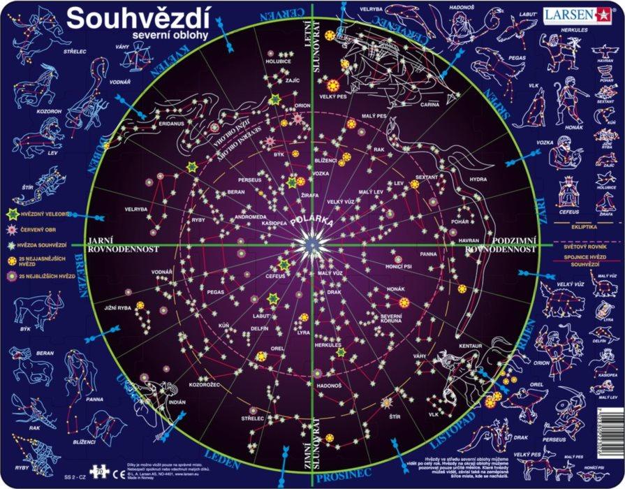 Mapa Mapa Hvezdne Oblohy Online