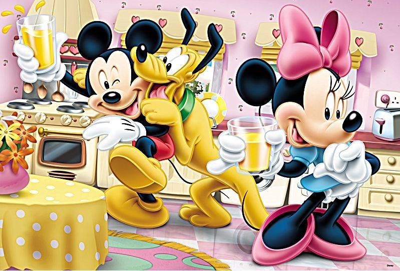 TREFL Puzzle Mickey Mouse  Veselé odpoledne 160 dílků  22a47b8409c