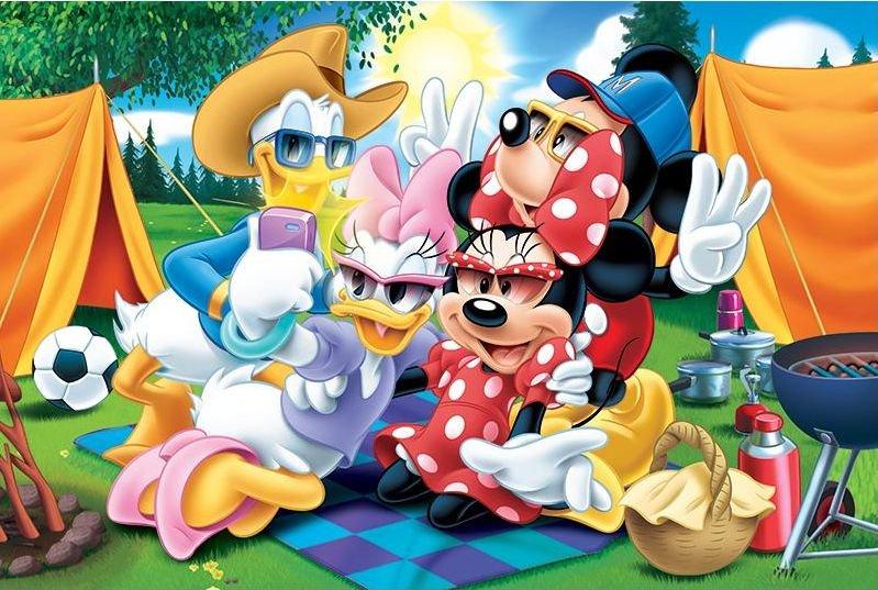 TREFL Puzzle Minnie Mouse  Tábor MAXI 24 dílků  161f9af7555