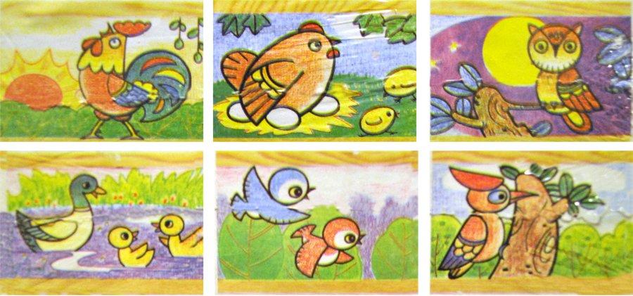 Puzzle puzzle cz dětské obrázkové kostky dřevěné kostky