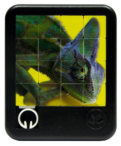 Posuvné Puzzle Chameleon 4x4