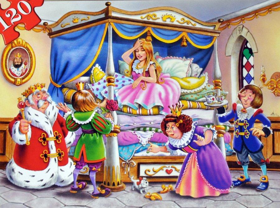 Сказка Принцесса на горошине  Сказка Андерсена Ганса