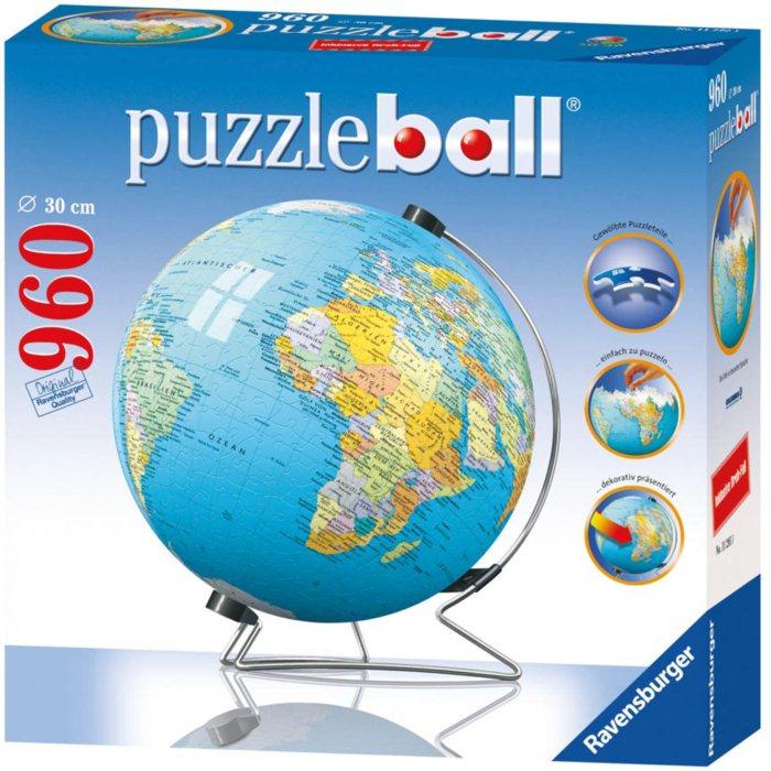 ravensburger puzzleball globus n mecky puzzle. Black Bedroom Furniture Sets. Home Design Ideas