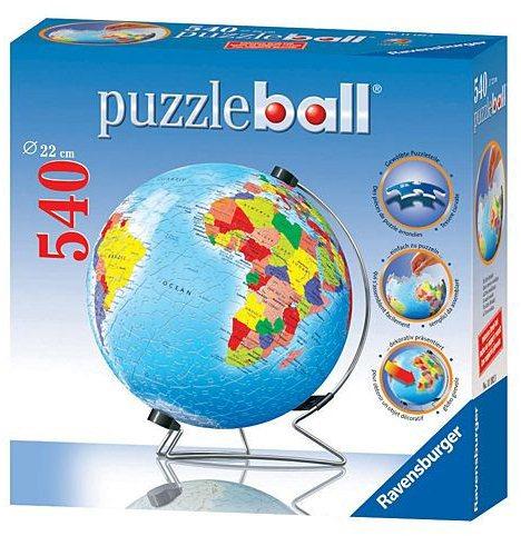 ravensburger puzzleball globus zem koule metalick. Black Bedroom Furniture Sets. Home Design Ideas