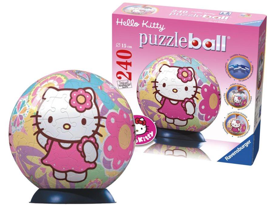 ravensburger puzzleball hello kitty puzzle. Black Bedroom Furniture Sets. Home Design Ideas