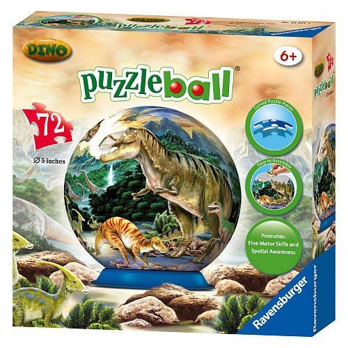 ravensburger puzzleball junior dinosau i 72 d lk puzzle. Black Bedroom Furniture Sets. Home Design Ideas
