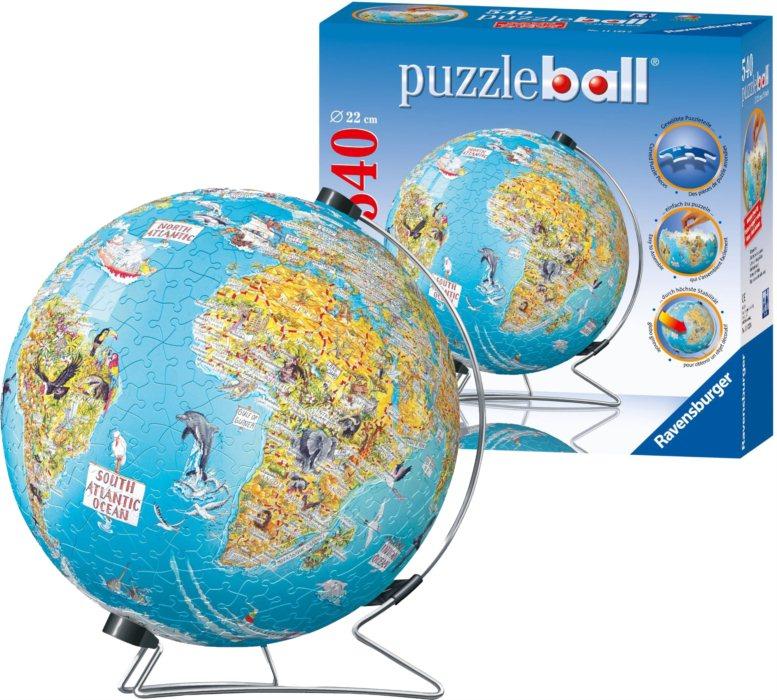 ravensburger puzzleball objevuj sv t puzzle. Black Bedroom Furniture Sets. Home Design Ideas