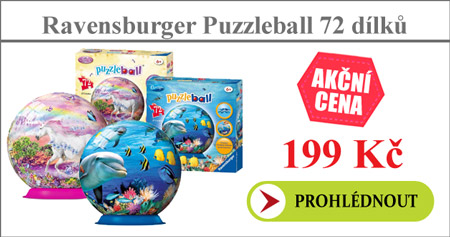 Ravensburger Puzzleball Junior 72 dílků