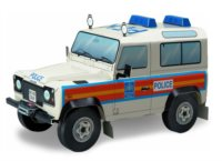 3D puzzle LandRover Defender 90 (policie)