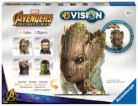 3D puzzle 4S Vision: Avengers (Groot, Thor, Rocket a Hulk)