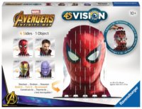 3D puzzle 4S Vision: Avengers (Spiderman, Doctor Strange, Ironman a Thanos)